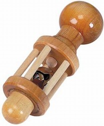 Natural Wooden Rattle for Baby