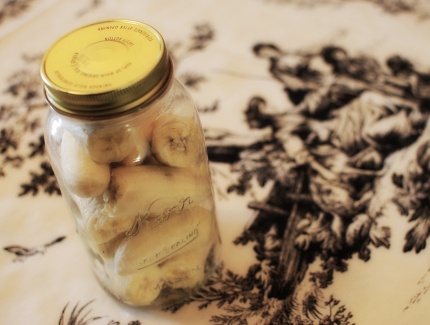 Bananas in Jar