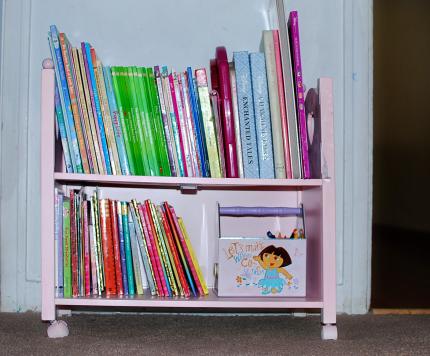 DIY Children's bookshelves