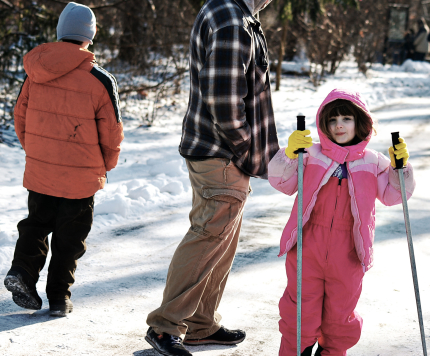 Hiking in Winter at Clumbus Metro Parks