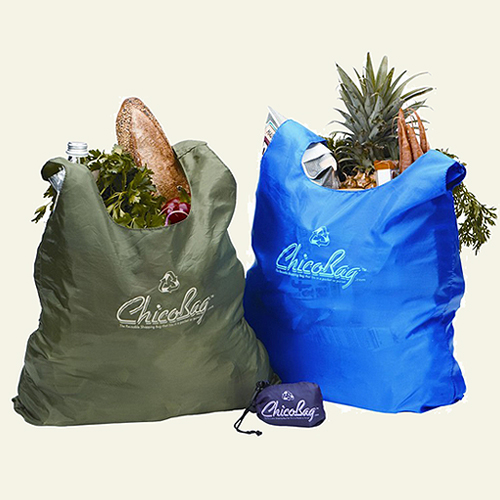 ChicoBag - Colorful, Compact Reusable Shopping Bag - ReusableBags.com : :  shopping purple tan reusable bags lightweight and ultra-compact cotton bags
