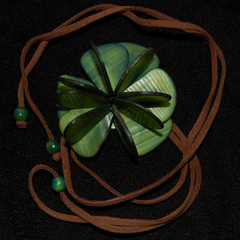eco fashion necklace