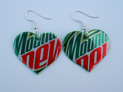 pop can earrings