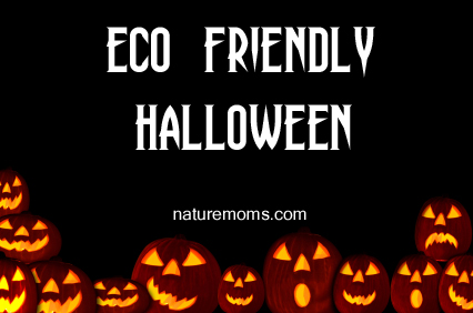 eco friendly halloween banner