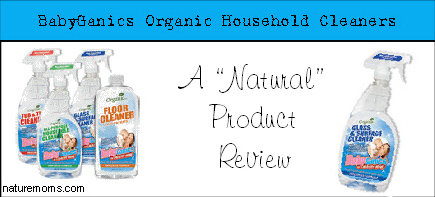 babyganics cleaners