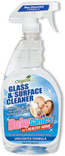 BabyGanics Glass Cleaner Bottle