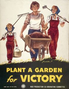 Freedom gardens grow your own food nature moms blog nature moms for What was the goal of victory gardens