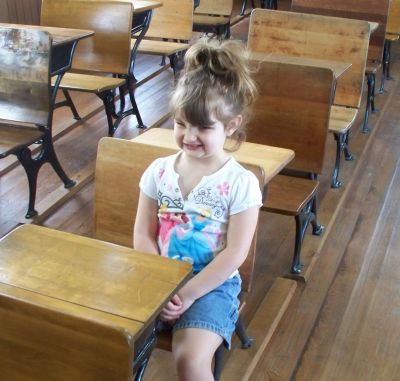 Paige at Old Schoolhouse