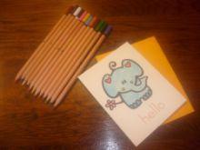 Stubby Pencil Studio Stuff
