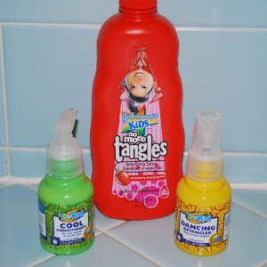 Johnson's No More Tangle versus Tru Kid Dancing Detangler