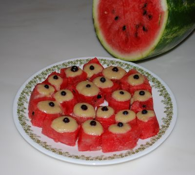 4th of July Watermelon Cakes