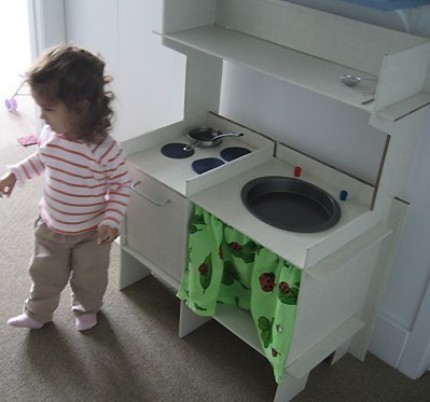 Delighful Diy Wooden Play Kitchen Kitchenette To Design Inspiration
