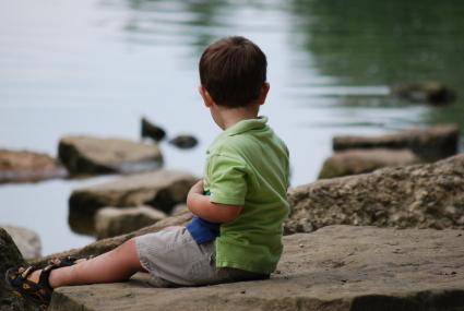 Sitting near the Creek