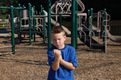 bully on the playground