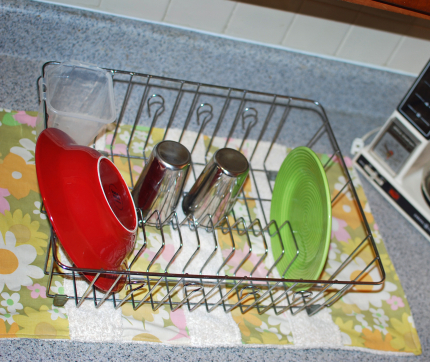 Dish Rack Towel inspired by Handmade Home