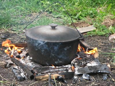 Gotowanie w górach