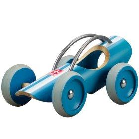 e-racer bamboo car