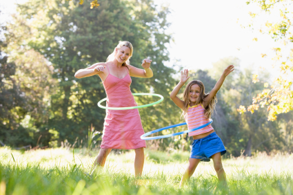 Hula Hoop with your kids