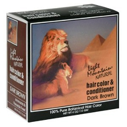 Light Mountain Natural hair Dye